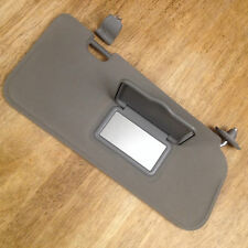 2001-2009 Ford Escape RH (passenger) No Light Mirror Sun Visor w/clip (d. grey)