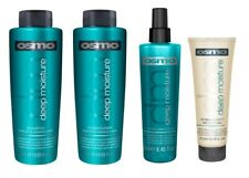 Osmo Deep Moisture Shampoo 400ml, Conditioner 400ml, Deep Repair Mask 250ml and