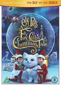 ELF PETS A FOX CUB'S CHRISTMAS TALE (Region 4) DVD An Elf On A Shelf Cubs