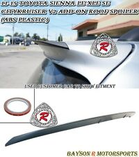 CityKruiser V2 Add-on Roof Spoiler Wing (ABS) Fits 11-17 Toyota Sienna