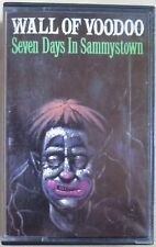 WALL OF VOODOO - SEVEN DAYS IN SAMMYSTOWN (RARE UK CASSETTE TAPE)