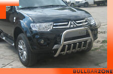 MITSUBISHI L200 2011+ TUBO PROTEZIONE MEDIUM BULL BAR INOX STAINLESS STEEL