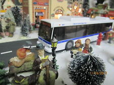 "TRAIN GARDEN HOUSE VILLAGE  "" MTA CITY TRANSIT BUS "" + DEPT 56/LEMAX info"