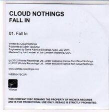 (DD820) Cloud Nothings, Fall In - 2012 DJ CD