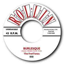"THE FRETTONES - ""BURLESQUE"" POWER HOUSE STROLLER b/w GREAT JIVE No. - LISTEN"
