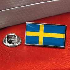 Sweden Flag Lapel Pin Badge/Tie Pin