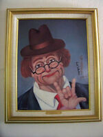 Red Skelton Signed Limited Edition: I Love You