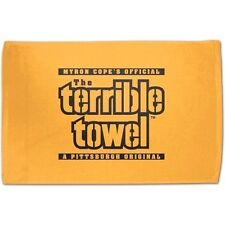 PITTSBURGH STEELERS OFFICIAL MYRON COPE'S TERRIBLE TOWEL GAME PARTY MAN CAVE NFL