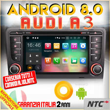 "AUTORADIO 8"" Android 8.0 DVD Octa-Core 2GB 32GB AUDI A3 (2003-2011) S3 RS3 RN..."