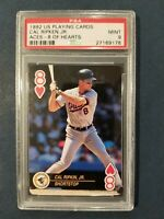 1992 US Playing Cards Aces CAL RIPKEN, JR. 8 of Hearts ~HOF~ Orioles PSA 9 Mint