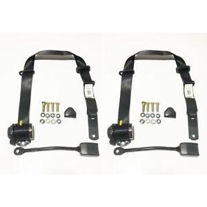 Front Seat Belt Kit to Suit Nissan 1200 B120 1971-85 2 Door Utility Bucket Seat