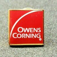 Vintage Owens Corning Pin Lapel Pin New Old Stock