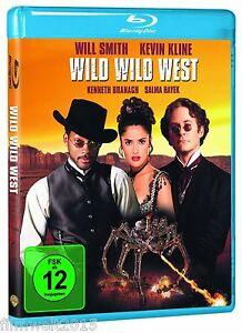 Wild Wild West [Blu-ray](NEU & OVP) Will Smith, Kevin Kline, Salma Hayek, Kennet