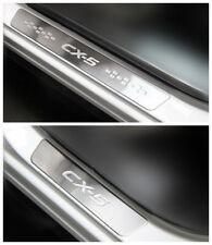 Door sill scuff plate Guard For Mazda CX5 2012 2013 2014 2015 2016 2017 2018