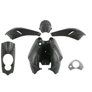 Kit de Disfraces Cubierta en Negro 5 Piezas de Revestimiento Para Peugeot Ludix