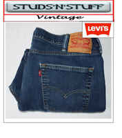 "VINTAGE LEVIS 541'S STRAIGHT FIT JEANS W42"" L23"" APROX SIZE UK 22  (T154)"
