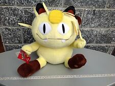 1998 TOMY Vintage Rare Pokemon Jumbo Plush  Meowth#52 With Tag 65 Cm/26 Inches