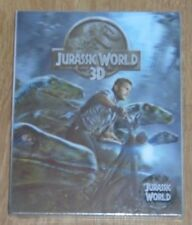 Jurassic World (blu-ray) Steelbook - novamedia (Lenticular slip). NEW & SEALED