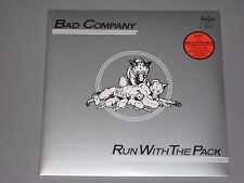 BAD COMPANY  Run With the Pack  180g 2LP gatefold New Sealed Vinyl 2 LP Bad CO
