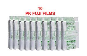 Fujifilm Instax Mini Film 10 PK EA. X 10= 100 FILMS 10% off! Brand New!
