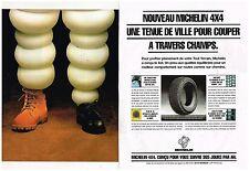 Publicité Advertising 1994 (2 pages) Les Pneus Michelin 4X4