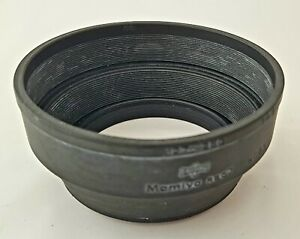 MAMIYA RUBBER LENS HOOD RB67 M645 127~250 VGC USED CONDITION