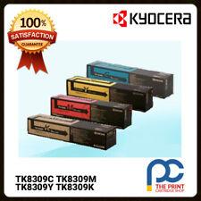 New Genuine Kyocera TK8309C TK8309M TK8309Y TK8309K Full Toner Set CMYK 3050CI