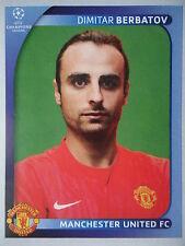 Panini 22 Dimitar Berbatov Manchester United UEFA CL 2008/09