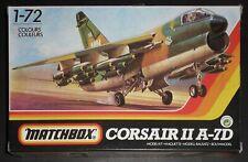 Matchbox Corsair II A-7D - Model Kit 3 colours Set 40101 scala 1:72 - Occasione!