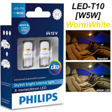 Philips W5W T10 Xtreme Ultinon LED 4000K 360° Car 12V Crystal Whit 127994000KX2