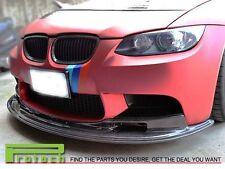AK II Style Carbon Fiber Front Bumper Add on Lip fOR BMW 2008-2013 E92 E93 M3