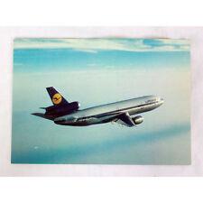 Lufthansa Airways- DC10 - Aircraft Postcard - Good Quality