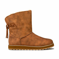 Skechers Womens Keepsakes 2.0 Hearth Pull On Boots in Chestnut Brown