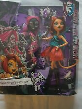 Monster High Fierce Rockers Catty Noir and Toralei Exclusive 2pack doll RARE NEW