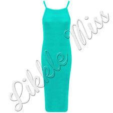 Viscose Square Neck Casual Dresses Midi