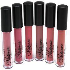 KLEANCOLOR Set of 6 Madly MATTE Color Lip Gloss Set Bold Vivid NEW LG1818SET