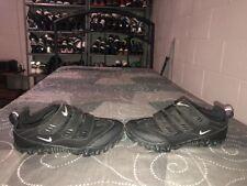 RARE VINTAGE Nike ACG Kato III Strap Mens Cycling Bike Shoes Size 9.5 Black Gray