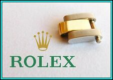 ROLEX Oyster Solid Yellow Gold & Steel 10mm LINK for Ladies Bracelet - ORIGINAL