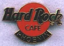 Hard Rock Cafe PHOENIX 1990s Classic HRC Logo PIN Orange Circle HR Catalog #7484