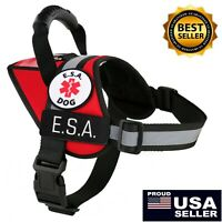 Emotional Support Dog ESA Vest Reflective K9 Harness Patches ALL ACCESS CANINE™