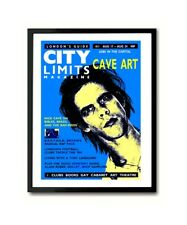 Nick Cave 1990 London Magazine Cover Wall Art Poster Print