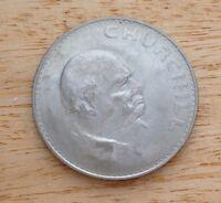 Great Britain Crown - Winston Churchill Commemorative Coin - 1965