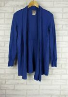 SUSSAN Knit Jacket/Cardigan Sz XS Blue