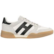 Hogan sneakers uomo h357 hxm3570ac40ipj9998 Grigio Pelle Scamosciata