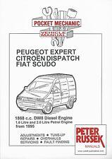 Pocket Mechanic Citroen Dispatch, Peugeot Expert, Fiat Scudo 1.6/2.0 '95 on book