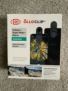NEW OlloClip - Fisheye + Super Wide Macro L