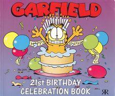 GARFIELD - Jim davis - 21st Birthday Celebration Book - 1st edition 1999