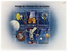 Space Exploration/Journey to the Stars/Spacecraft Stamp Sheet #5 2000 Madagascar