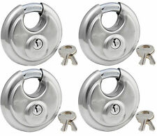 Lock Set by Master 40KA (Lot 4) Keyed Alike Round Weather Resistant Stainless