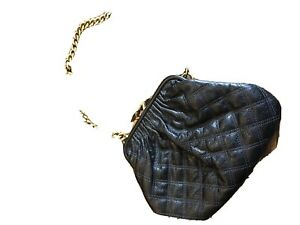 Marc Jacobs Little Stam Quilted Leather Black Small Shoulder Bag